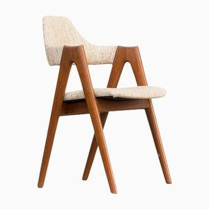 Vintage Compass Chairs by Kai Kristiansen for SVA Møbler, Set of 6