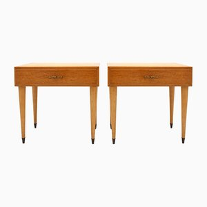Mid-Century Italian Nightstands, 1950s, Set of 2