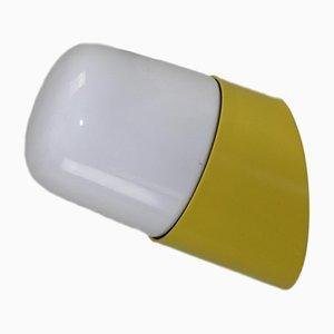 Lámparas de pared amarillas de Orion Leuchten, años 60. Juego de 6
