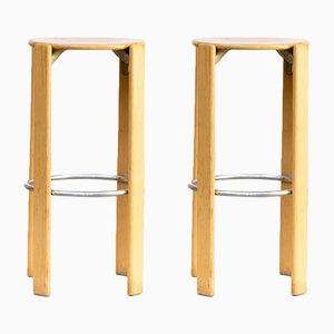 Bar Stools by Bruno Rey for Dietiker Kusch & Co, 1970s, Set of 2