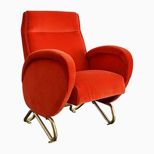 RAI Auditorium Armchair by Carlo Mollino, 1952