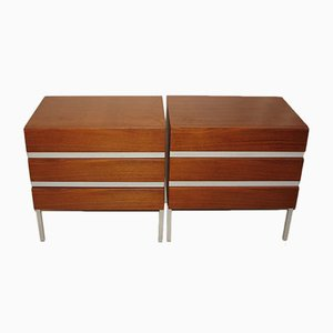 Danish Cabinets, 1970s, Set of 2