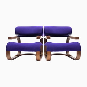 Czech Embassy Chairs by Jan Bočan, 1972, Set of 2