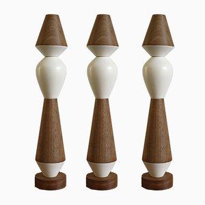 Modulare iTotem Kerzenhalter aus Holz von Capperidicasa