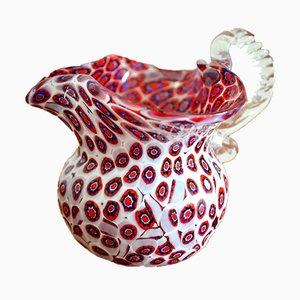 Millefiori Vase aus Muranoglas, 1950er