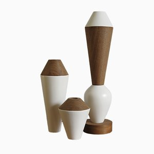 Modular Wooden iTotem Candle Holders by Capperidicasa
