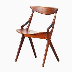 Dänische Esszimmerstühle von Arne Hovmand Olsen für Mogens Kold, 1950er, 4er Set