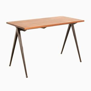 Mid-Century Model TD4 School Desk from Galvanitas
