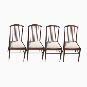 Rosewood Chairs, 1960s, Set of 4