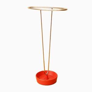Portaombrelli minimalista di Carl Auböck, anni '50