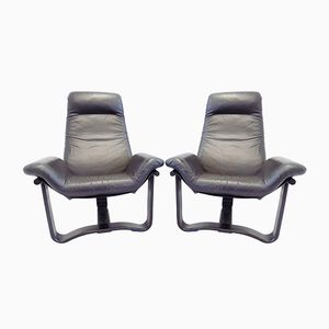 Manta Chairs by Ingmar Relling for Westnofa, 1970s, Set of 2