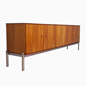 Large Dutch Sideboard in Teak by Kho Liang Ie for Fristho, 1960s