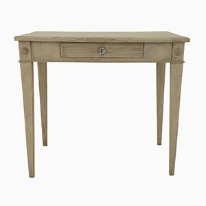 Antique Gustavian Side Table, 1840s