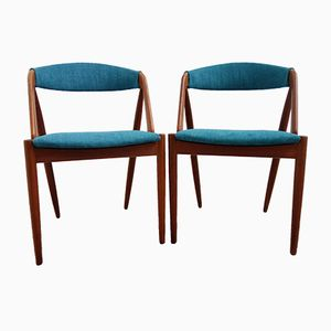 31 Chairs by Kai Kristiansen for Schou Andersen, 1960s, Set of 2