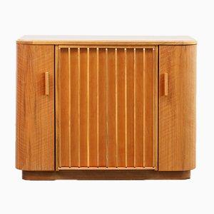 Mueble bar vintage de nogal, años 50