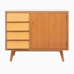 Light Walnut Commode, 1950s
