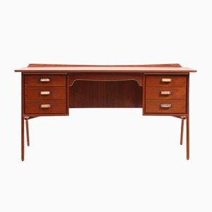 Vintage Teak Desk by Svend Åge Madsen for Sigurd Hansen, 1960s