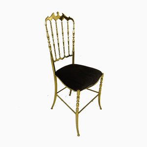 Brass Chiavari Side Chair, 1970s