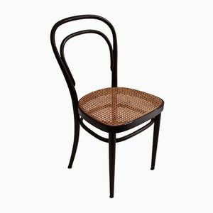 Wood & Cane Bistro Chair from Thonet, 1920s