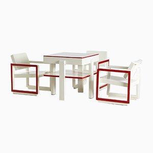 Mid-Century Bauhaus Dining Set, 1950s
