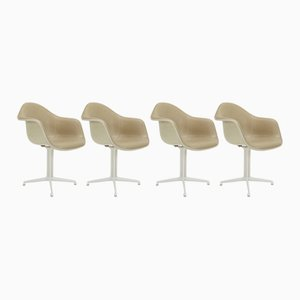 DAL Armchairs by Charles & Ray Eames for Herman Miller, 1950s, Set of 4