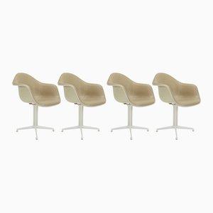 DAL Armlehnstühle von Charles & Ray Eames für Herman Miller, 1950er, 4er Set