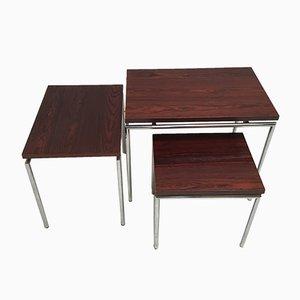 Tavolini ad incastro in palissandro, Paesi Bassi, anni '60