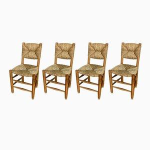 Stühle von Charlotte Perriand, 1950er, 4er Set