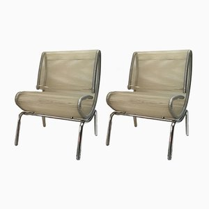 Italian Spaghetti Chairs, 1980s, Set of 2