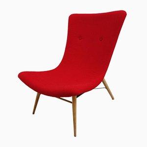 Lounge Chair by Miroslav Navratil for Cesky Nabytek, 1960s