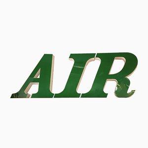 Beleuchtetes Vintage AIR-Schild