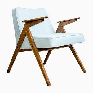 Mid-Century Modell 300-177 Bunny Sessel von Dolnośląskie Furniture