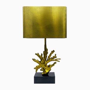 Lámpara de mesa Coral de Maison Charles, años 70