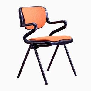 Chaise de Bureau Vertebra par Giancarlo Piretti & Emilio Ambasz pour Castelli, 1970s