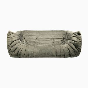 Vintage Grey Togo Sofa by Michel Ducaroy for Ligne Roset