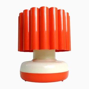 Italienische Tischlampe aus Plexiglas, 1970er