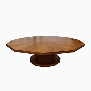 Large Dodecagonal Dining Table, 1930s