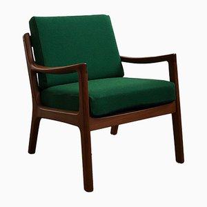 Mid-Century Teak 'Senator' Armchair by Ole Wanscher for Poul Jeppesens Møbelfabrik