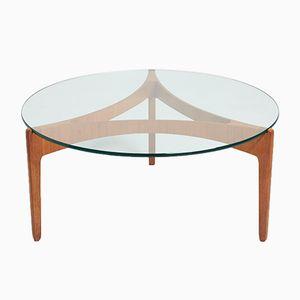 Teak Coffee Table by Sven Ellekaer for Christian Linneberg, 1960s