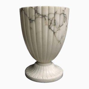 Lámpara de mesa de alabastro de Volterra, años 60