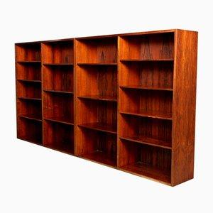 Bücherregale aus Palisander von Omann Jun, 1970er, 2er Set