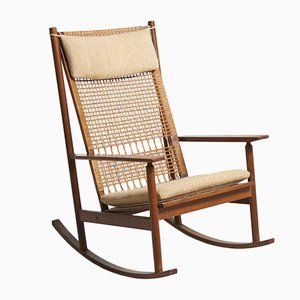 Rocking Chair by Hans Olsen for Juul Kristensen, 1950s