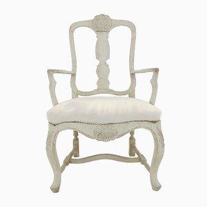 19th Century Swedish Rococo Style Armchair