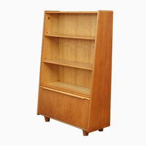 Mid-Century Dutch Oak BE-03 Bookcase by Cees Braakman for Pastoe, 1950s