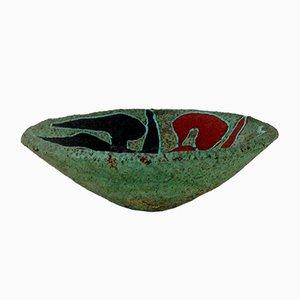 Cuenco grande de cerámica de Accolay, años 50