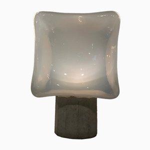 Lampada da tavolo cubica di Leucos, anni '70
