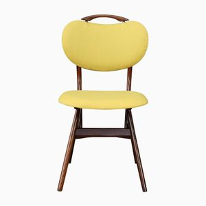 Mid-Century Dutch Yellow Side Chair by Louis van Teeffelen, 1950s