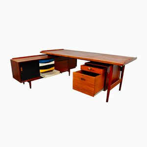 Model 509 Writing Desk by Arne Vodder for Sibast, 1960s
