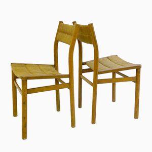 Wochenendstühle von Pierre Gautier-Delaye für Vergnères, 1954, 2er Set