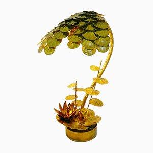 Lámpara de pie Anemone de Maison Jansen, años 70